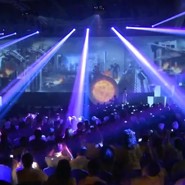 VideoMapping Circulo de Oro 2013